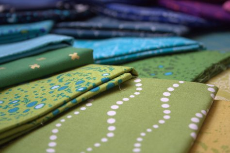 alison glass gorgeous green fabric