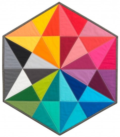 Prismatic Medallion image from Robert Kaufman.