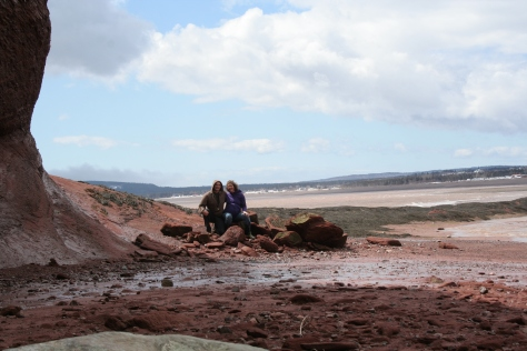 babymoon at the bay of fundy