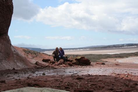 babymoon at the bay of fundy