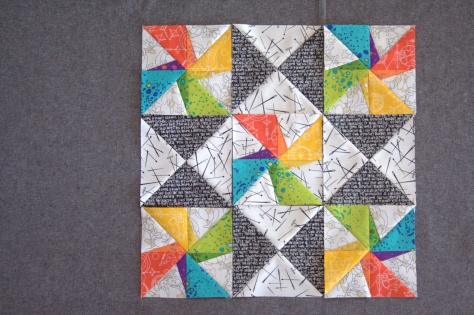 Twirling Star by Leanne at Devoted Quilter pattern testing