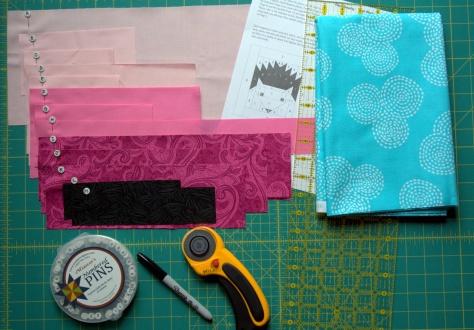 pinkalicious hazel hedgehog baby quilt
