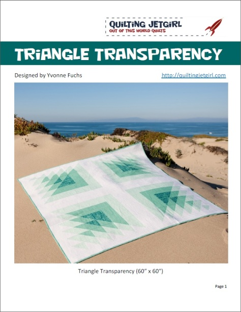 Quilting Jetgirl triangle-transparency