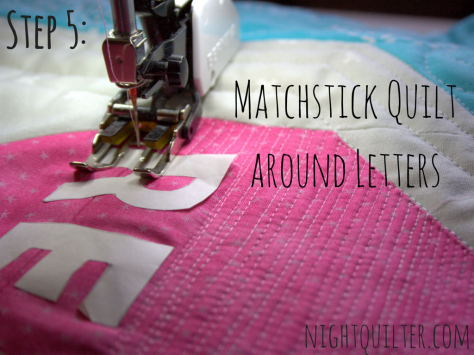 relief quilting tutorial