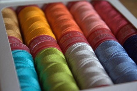 aurifil 12wt thread by bari j