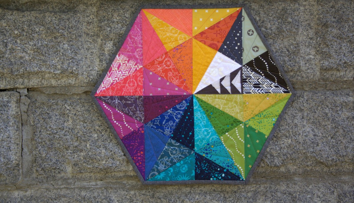 Bloggers Quilt Festival - Spring 2015 {ROYGBIV Entry}