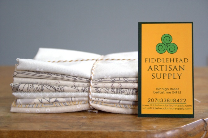 fiddlehead sponsor introduction and giveaway low volume bundle fabric