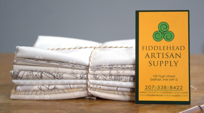 Sponsor Introduction {& Giveaway}: Fiddlehead Artisan Supply
