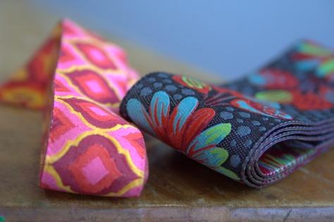 tula pink renaissance ribbons