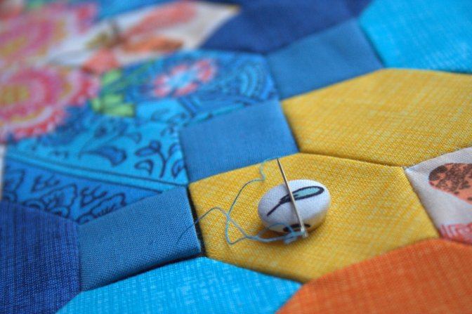 summer epp table runner