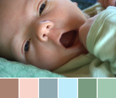 baby color palette