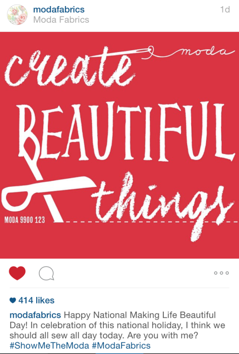 create beautiful things moda fabrics