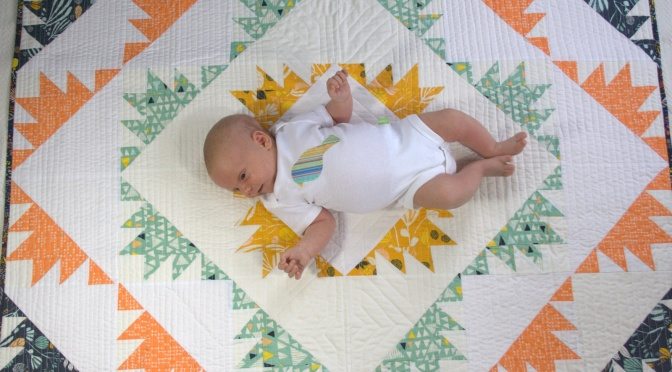 Babies on Quilts and a Big Thank You