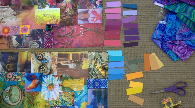 Dropping in on A Quilter's Color Weekend