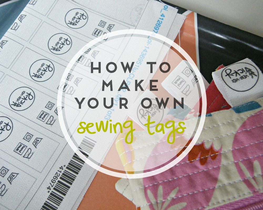 how to make your own sewing tags vini vidi vicky