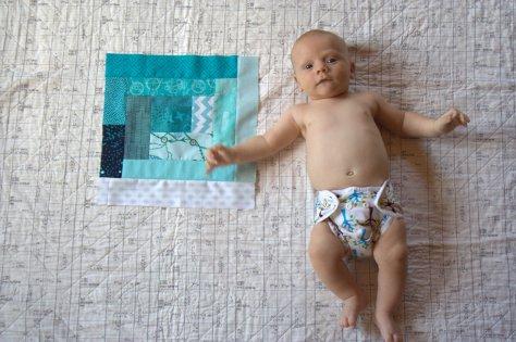 Finn 3 months old quilt