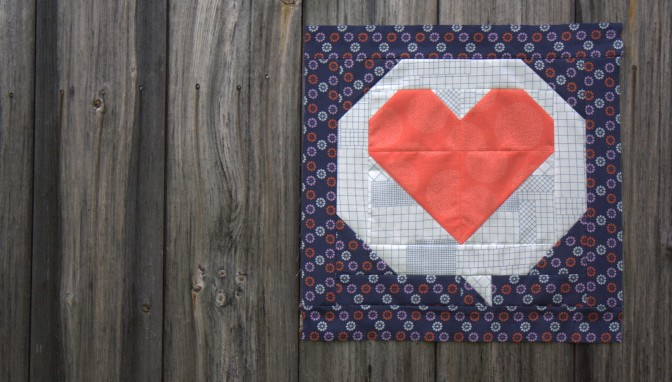 Hello, Love! Flimsy Finish & Pattern Release