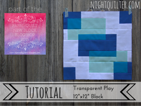 TUTORIAL- Transparent Play Block