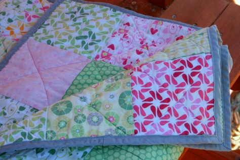 rainy days picnic quilt