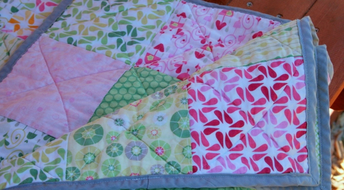 Flashback Friday: My First Quilt