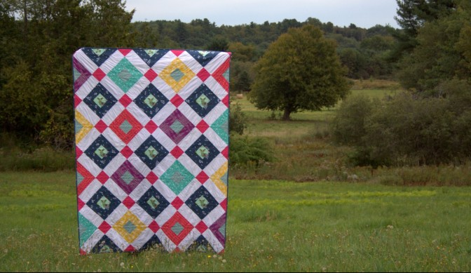 Welded Quilt: AGF Stitched {& Giveaway}