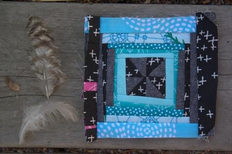 my mini mini quilt in progress
