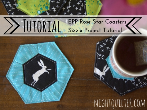 Sizzix Tutorial- EPP Rose Star Coasters