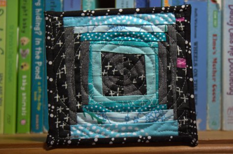 mini mini quilt