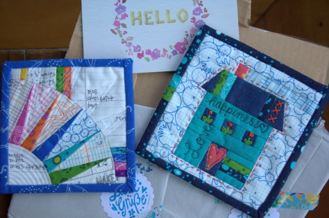 mini mini quilts from allison campbell soup diaries
