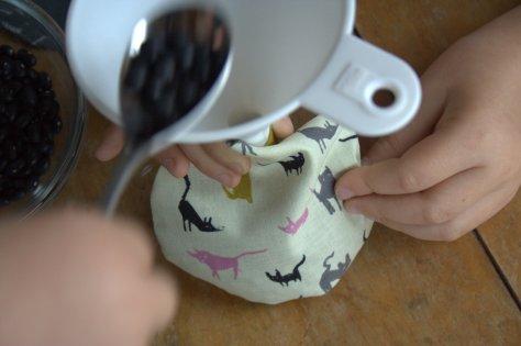 sizzix beanbag tutorial fill the beanbags
