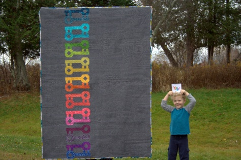 Bloggers Quilt Festival Entries: Large and mini mini