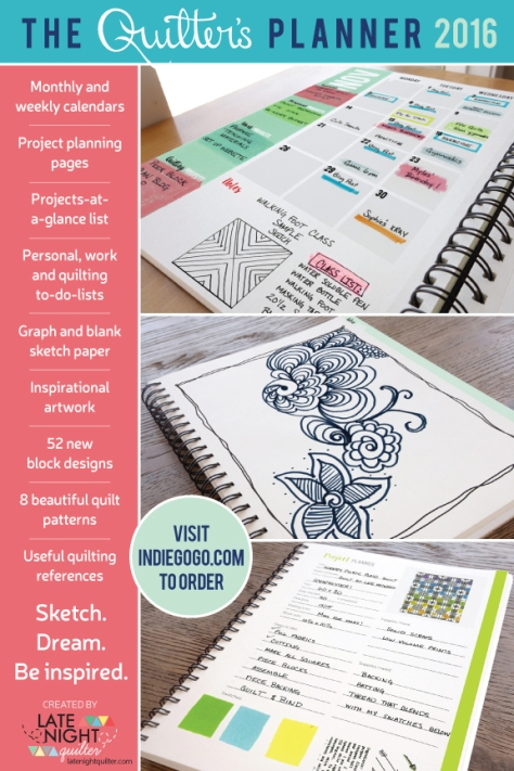 Quilters Planner