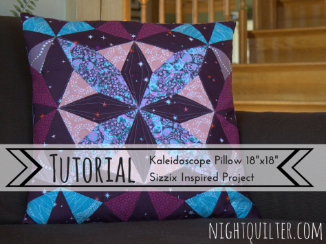 TUTORIAL- Kaleidoscope Pillow