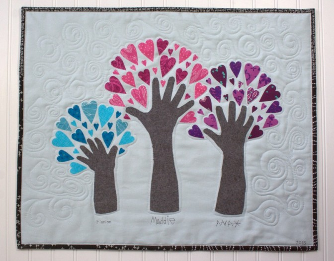 The Growing Tree Wall Hanging Tutorial