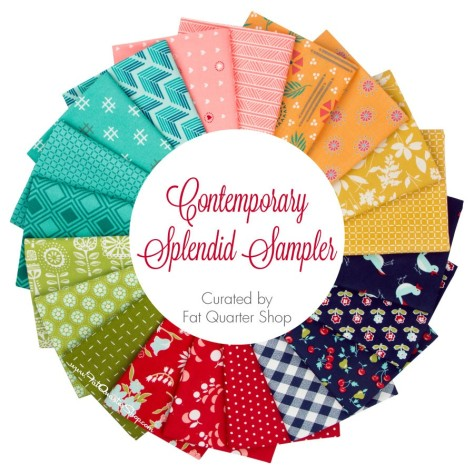 contemporary splendid sampler fat quarter bundle fat quarter shop