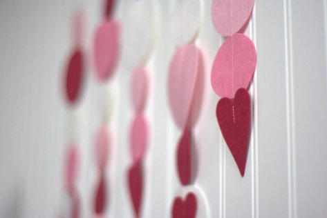 heart garland tutorial sizzix