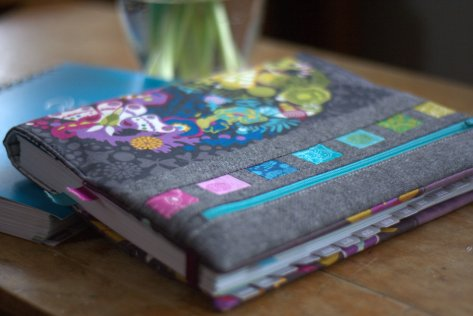 alison glass quilters planner cover