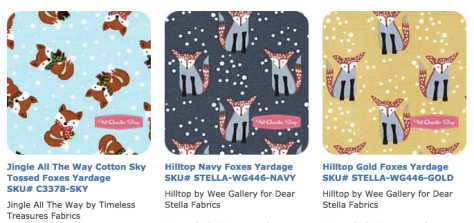 fox fabric search