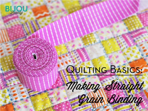 Bijou Lovely making-quilt-binding