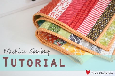 Cluck Cluck Sew Machine-Binding-Tutorial