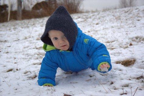 finn snow baby