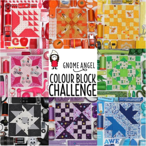Take a colour themed quilt block photo and win! Find out more at www.gnomeangel.com