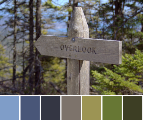 overlook color palette