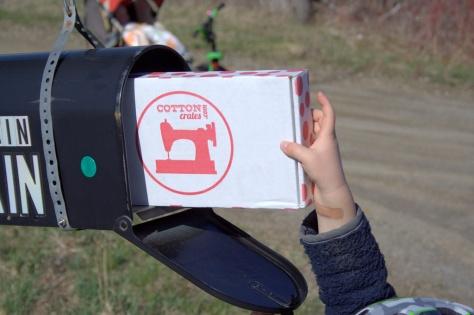cotton crates subscription box fabric