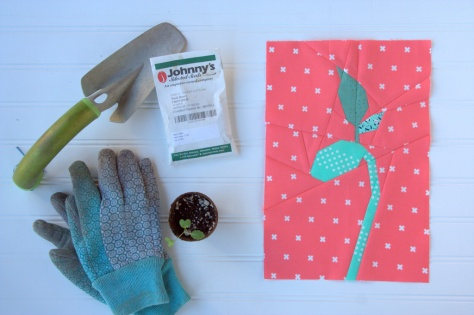 bean sprout foundation paper piecing pattern nightquilter