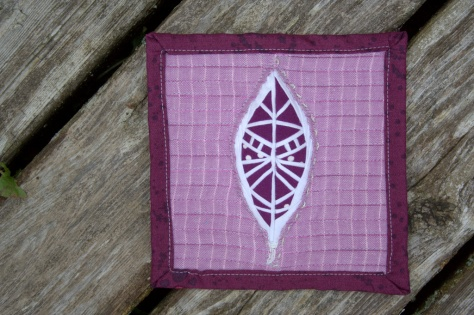 fpp feather mini mini quilt finish