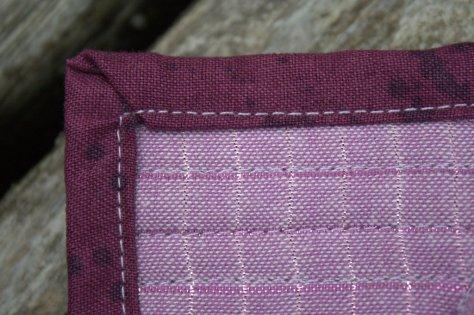 fpp feather mini mini quilt finish