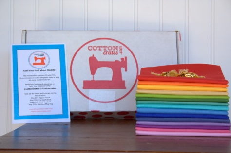 cotton crates fabric subscription box