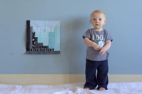 milestone quilt finn 11 months
