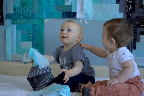 finn milestone quilt 11 months